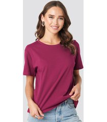 na-kd basic basic oversized tee - purple