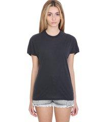 iro pozo t-shirt in black cotton