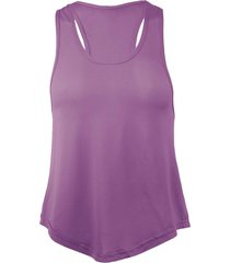 camiseta musculosa holgada violeta andesland