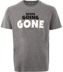 wood wood going going gone t-shirt - grey 5716-2334