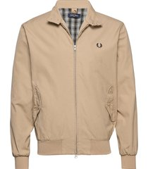 che.line harrington tunn jacka beige fred perry