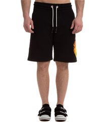 bermuda shorts pantaloncini uomo smiley burning head
