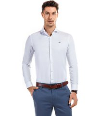 camisa amberes blanco new man