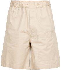 jil sander cotton bermuda short
