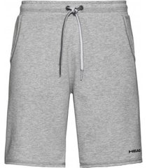 head tennisbroek boys bermudas club jacob grey melange-maat 128