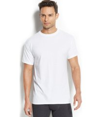 hanes men's x-temp performance crew-neck undershirt 4-pack