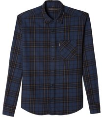 camisa john john benjamin algodão xadrez masculina (xadrez, gg)