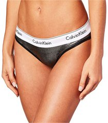 panties bikini modern cotton wet look calvin klein