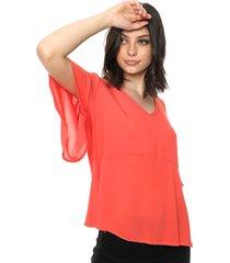 blusa coral mochi tania