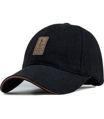 gorra golf ajustable # 2 - color negro logo marron