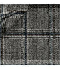 gilet da uomo su misura, reda, reda atto grigio 130's principe di galles, primavera estate | lanieri