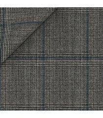 giacca da uomo su misura, reda, reda atto grigia 130's principe di galles, primavera estate