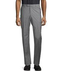 standard-fit wool & cashmere dress pants