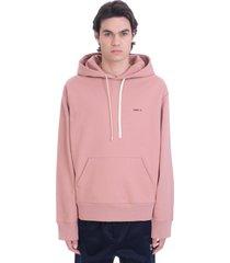 oamc sweatshirt in rose-pink cotton