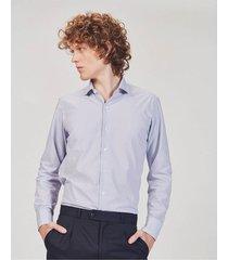 camisa celeste equus gael classic fit