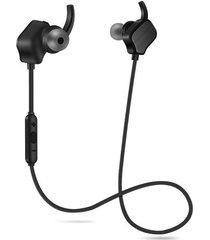 audífonos bluetooth inalámbricos magnéticos manos libres - negro