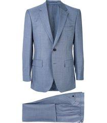 gieves & hawkes paletó de alfaiataria - azul