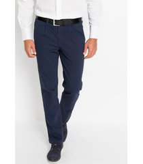regular fit stretch broek met scherpe vouw, straight