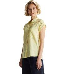 blusa con rayas amarillo esprit