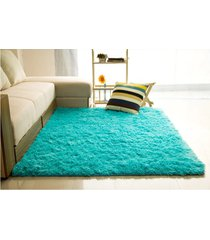 2pcs 80*120cm tapete alfombras salón suelo yoga esteras sala dormitorio azul