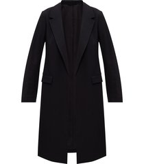 'aleida' coat with notched lapels