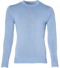 hensen pullover - slim fit - lichtblauw