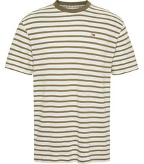tommy hilfiger t-shirt dm0dm07808 ocd uniform olive - groen