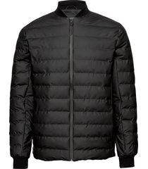 trekker jacket fodrad jacka svart rains