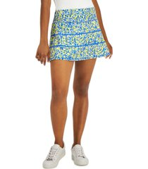 ideology women's speckle-print performance skort, created for macy's