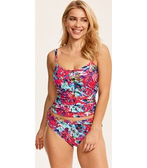 fiji underwire tankini top with adjustable sides