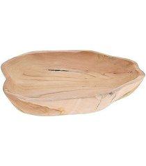 misa taca dekoracyjna z drewna tekowego bowl