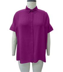 alfani pleated-back tunic, created for macy's