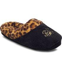 lrl slippers slippers tofflor svart lauren ralph lauren homewear