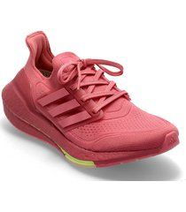 ultraboost 21 w shoes sport shoes running shoes rosa adidas performance