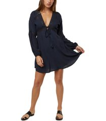 o'neill juniors' kimoura lace-inset a-line dress