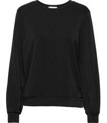 23 the sweat blouse sweat-shirt trui zwart denim hunter