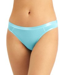 jenni women's solid thong, created for macy's