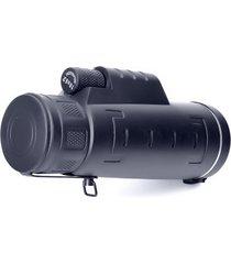 alta visión nocturna claro telescopio monocular 18x62hd negro