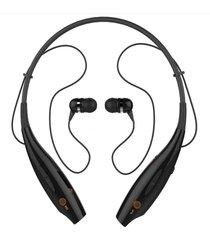 audifonos bluetooth inalámbricas con mic cancelación de ruido - negro