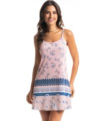 camisola curta estampada breeze