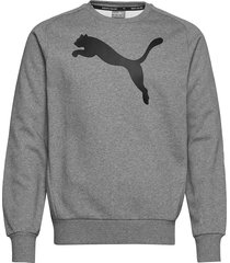 active ka crew sweat-shirt tröja grå puma
