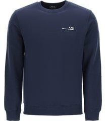 a.p.c. item 001 sweatshirt with logo print