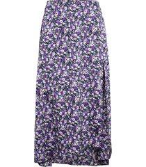 charleers skirt knälång kjol lila résumé