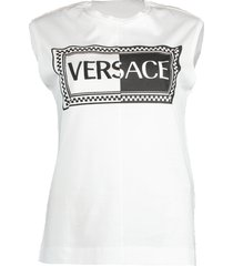 muscle versace logo tee