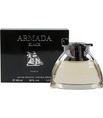 armada black paris bleu perfume masculino eau de toilette 100ml