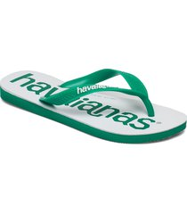 top logomania 2 shoes summer shoes flip flops grön havaianas