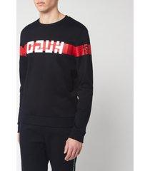 hugo men's daar sweatshirt - black - xxl