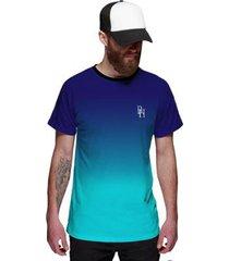camiseta di nuevo degradê oceano masculina - masculino