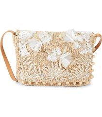 calypso woven shoulder bag