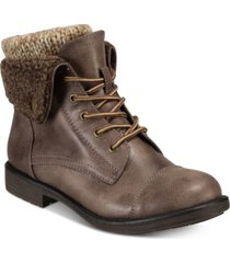 cliffs by white mountain women's duena lace-up hiker boot women's shoes